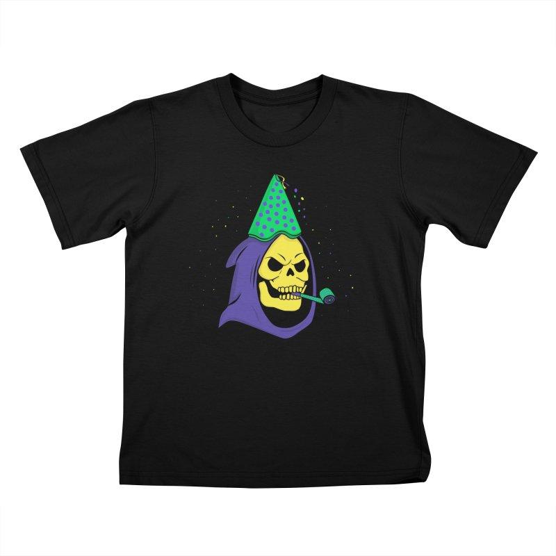 Skull Party Kids T-shirt by darruda's Artist Shop