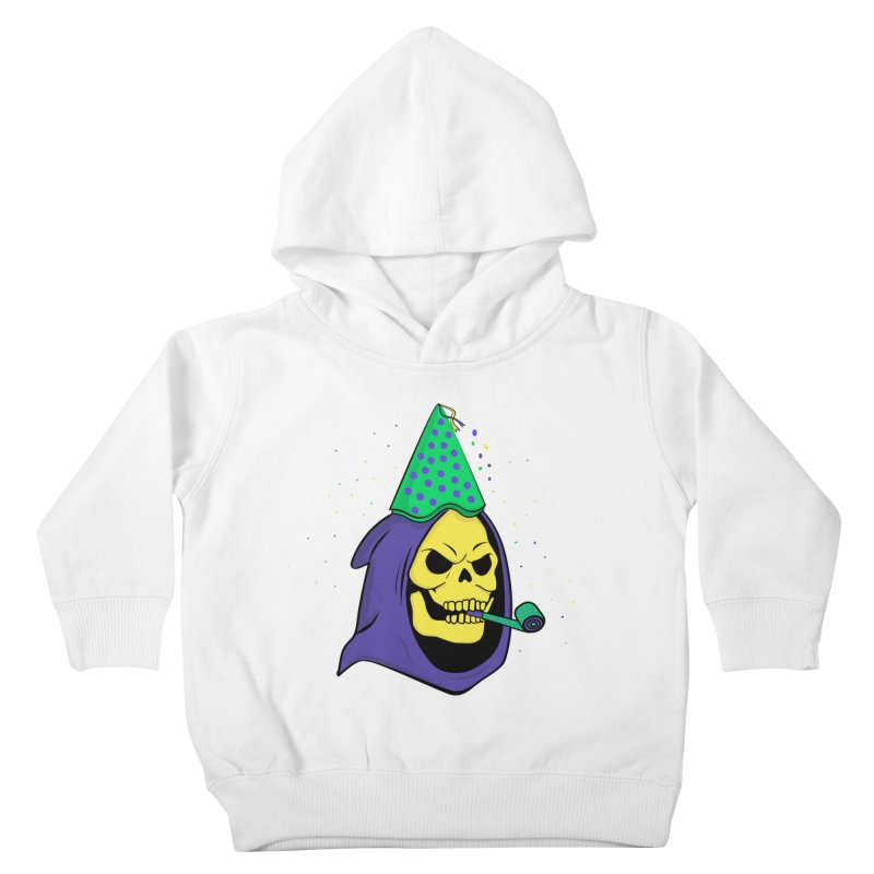 Skull Party Kids Toddler Pullover Hoody by darruda's Artist Shop