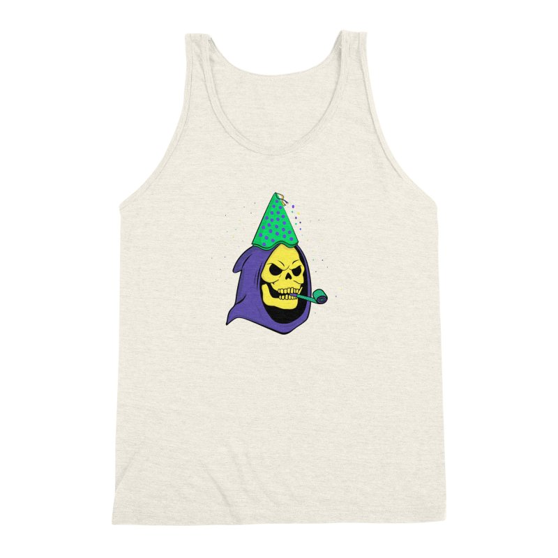 Skull Party Men's Triblend Tank by darruda's Artist Shop