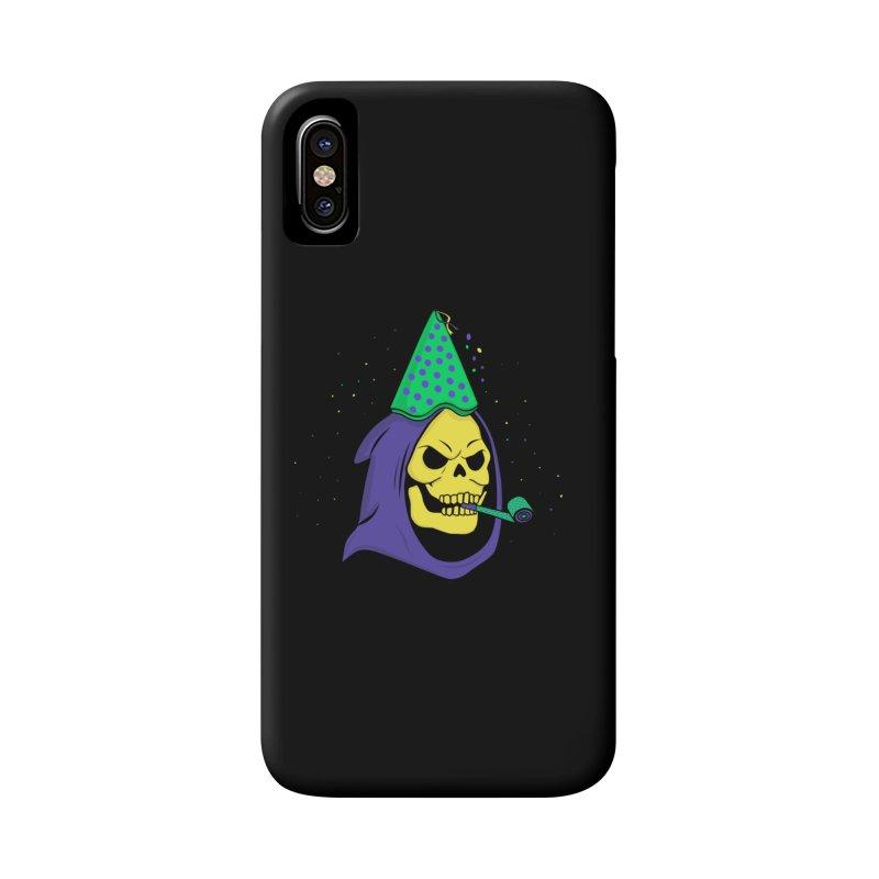 Skull Party Accessories Phone Case by darruda's Artist Shop