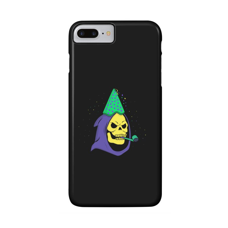 Skull Party Accessories Phone Case by darruda's Artist Shop