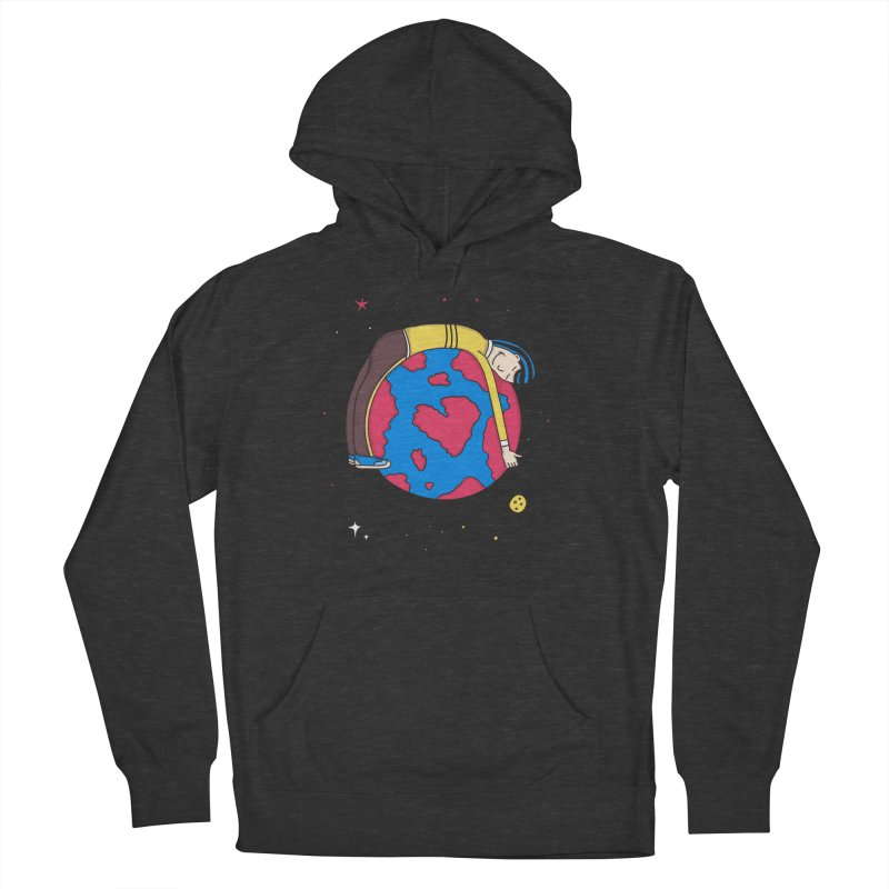 Addict to the Planet Women's Pullover Hoody by darruda's Artist Shop