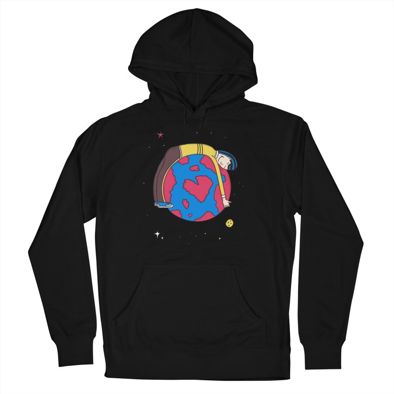 Addict to the Planet Men's Pullover Hoody by darruda's Artist Shop
