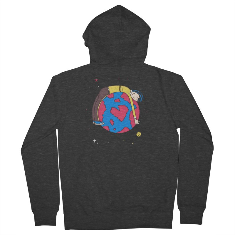 Addict to the Planet Women's Zip-Up Hoody by darruda's Artist Shop