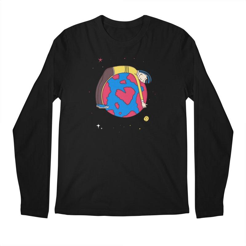 Addict to the Planet Men's Longsleeve T-Shirt by darruda's Artist Shop