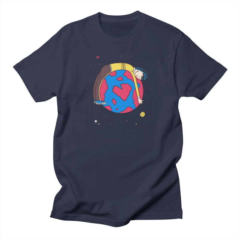 Addict to the Planet Women's Unisex T-Shirt by darruda's Artist Shop