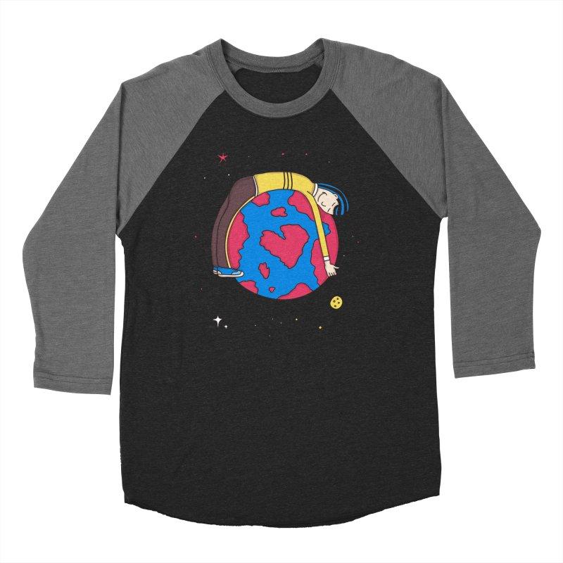 Addict to the Planet Women's Baseball Triblend T-Shirt by darruda's Artist Shop
