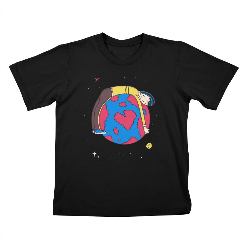 Addict to the Planet Kids T-shirt by darruda's Artist Shop