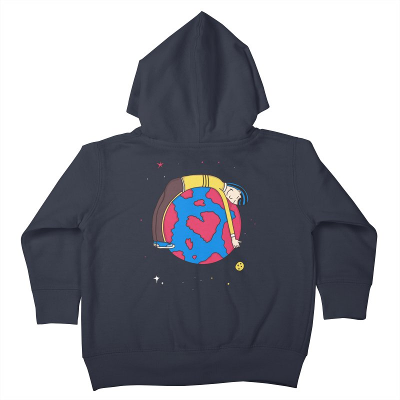 Addict to the Planet Kids Toddler Zip-Up Hoody by darruda's Artist Shop