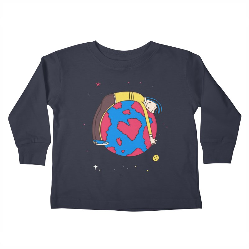 Addict to the Planet Kids Toddler Longsleeve T-Shirt by darruda's Artist Shop