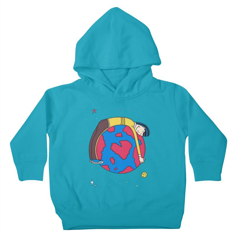 Addict to the Planet Kids Toddler Pullover Hoody by darruda's Artist Shop