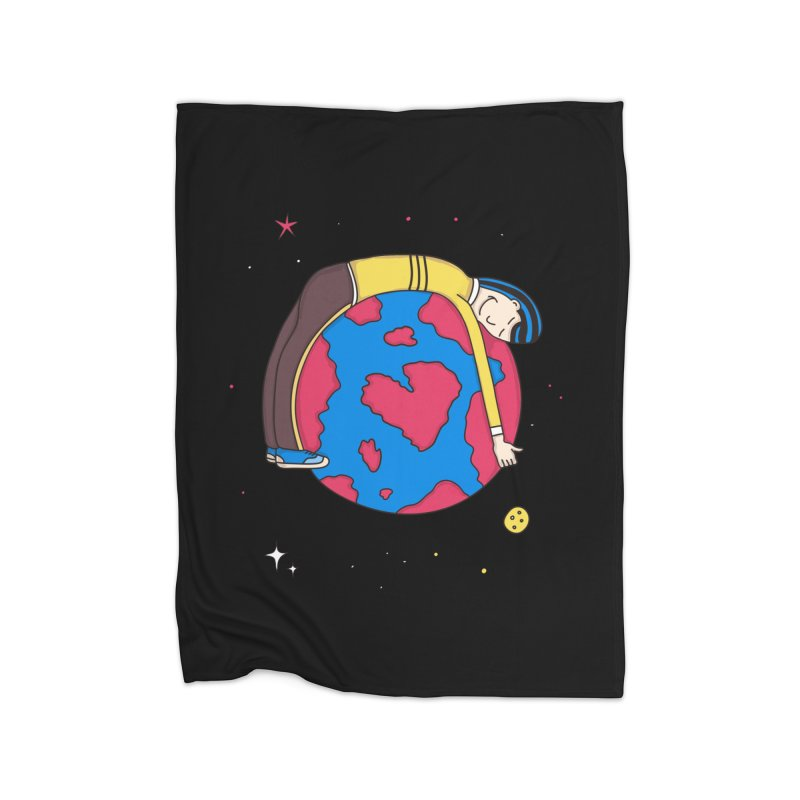Addict to the Planet Home Blanket by darruda's Artist Shop