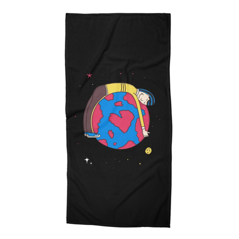 Addict to the Planet Accessories Beach Towel by darruda's Artist Shop