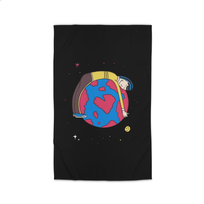 Addict to the Planet Home Rug by darruda's Artist Shop