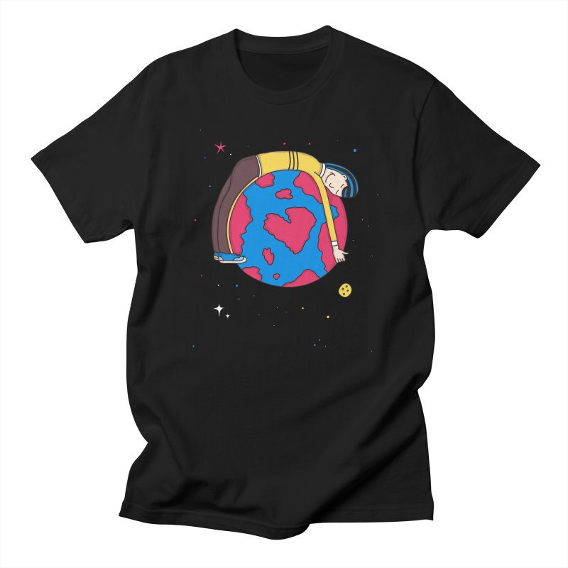 Planet Lover Women's Unisex T-Shirt by darruda's Artist Shop