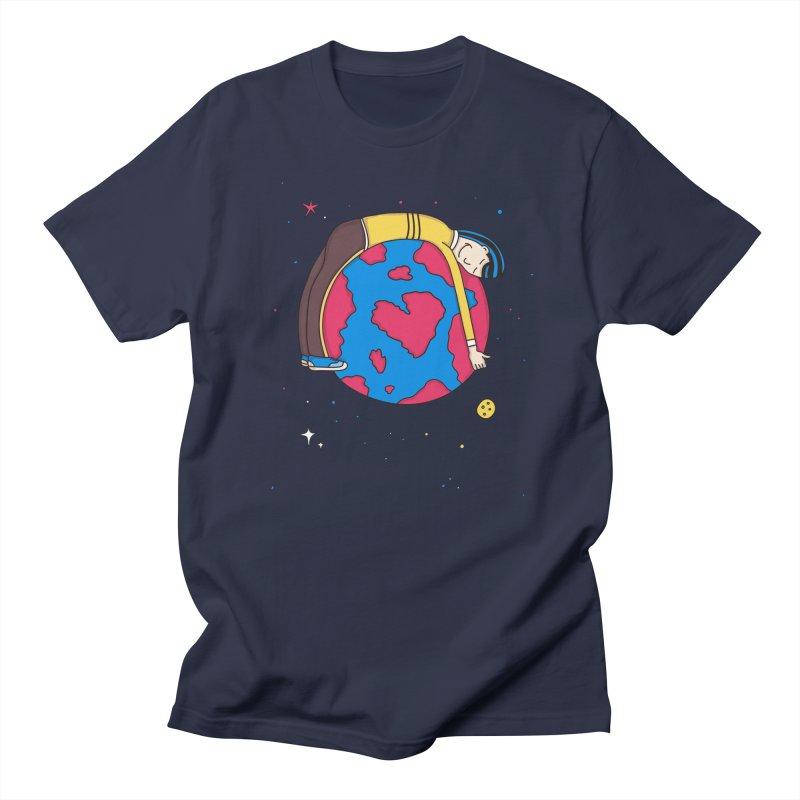 Planet Lover Men's T-Shirt by darruda's Artist Shop