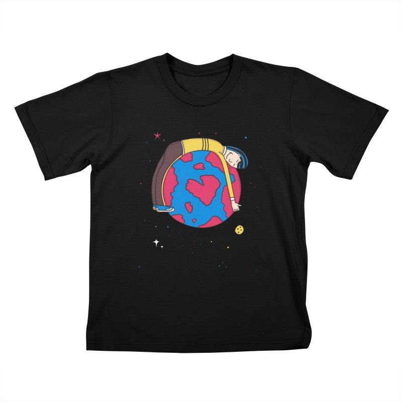 Planet Lover Kids T-Shirt by darruda's Artist Shop