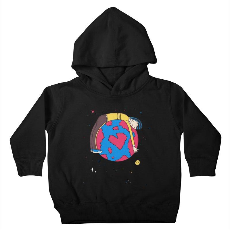 Planet Lover Kids Toddler Pullover Hoody by darruda's Artist Shop