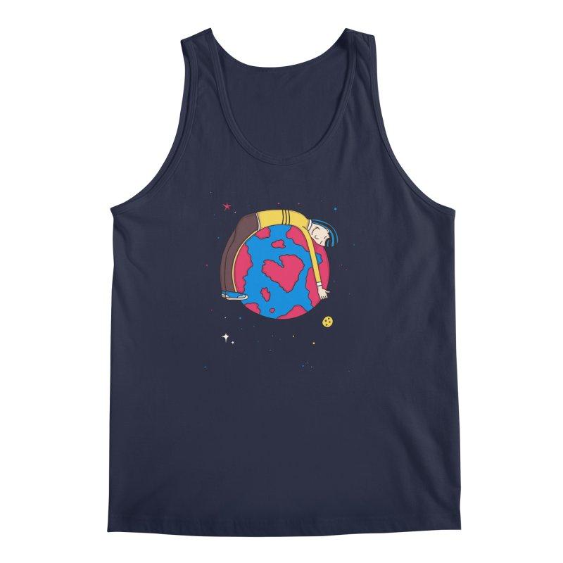 Planet Lover Men's Tank by darruda's Artist Shop