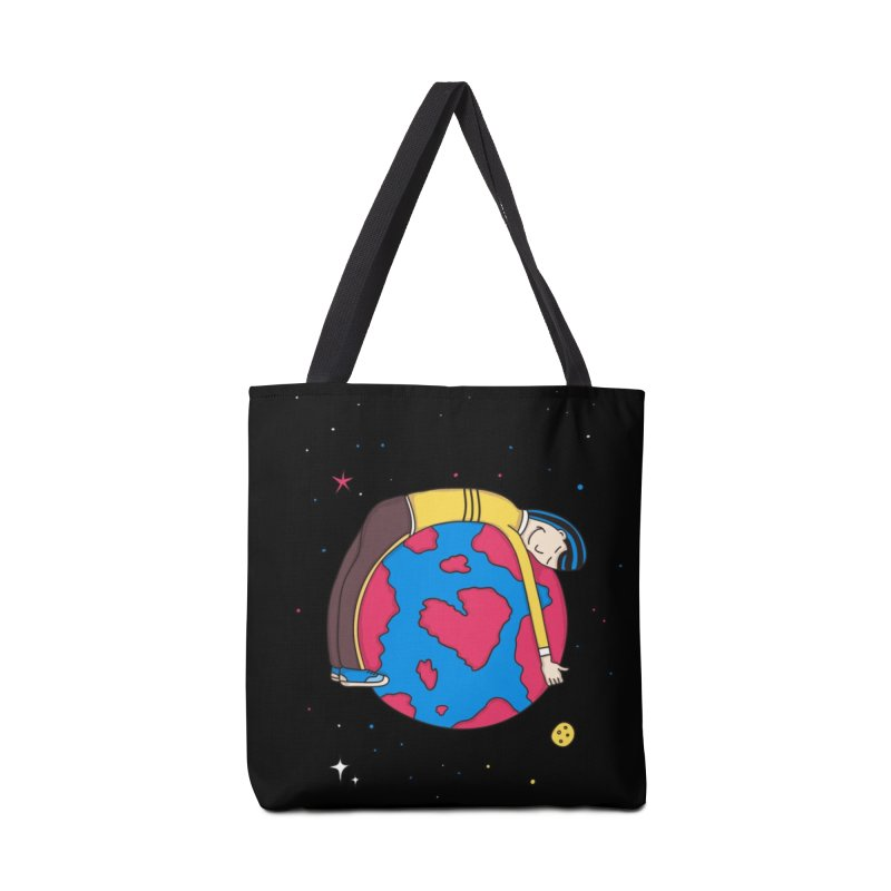 Planet Lover in Tote Bag by darruda's Artist Shop