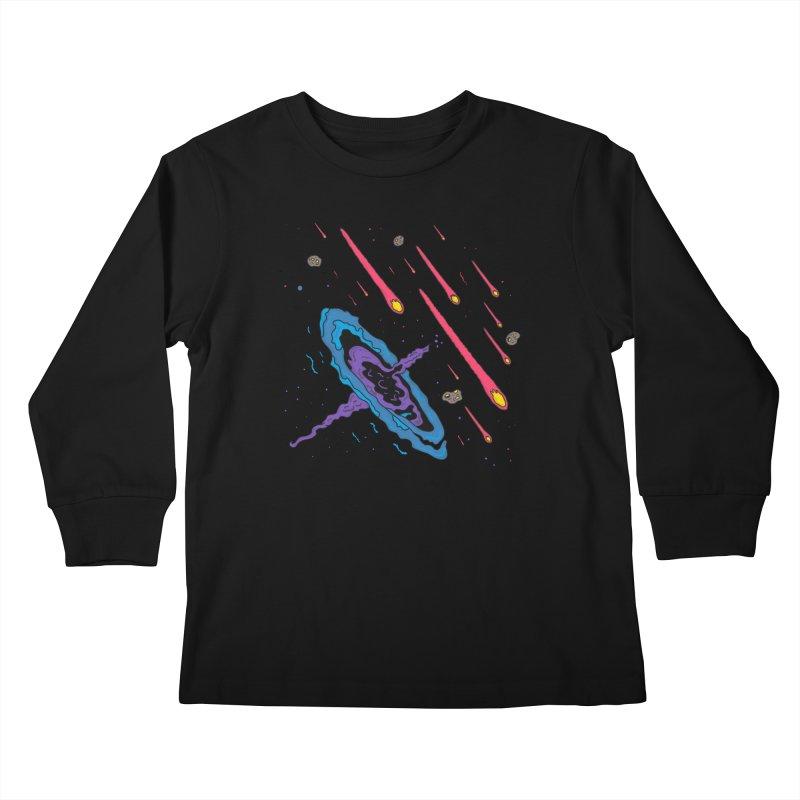 War Ensemble Kids Longsleeve T-Shirt by darruda's Artist Shop