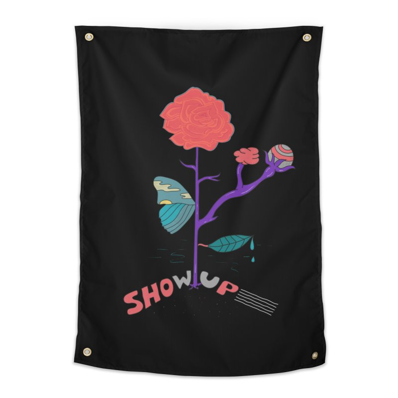 Show up Home Tapestry by darruda's Artist Shop