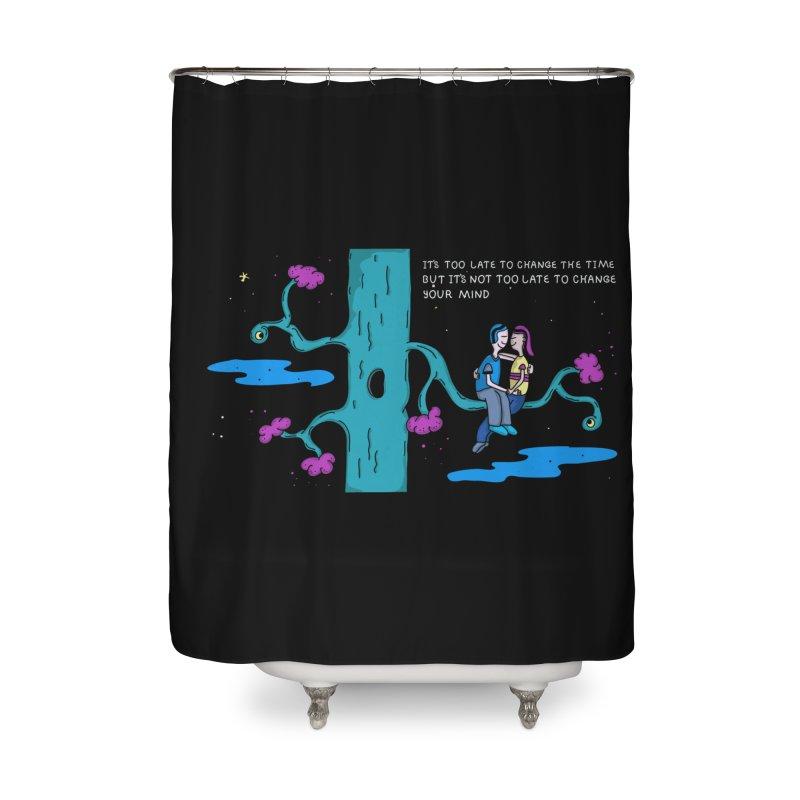 Change Home Shower Curtain by darruda's Artist Shop