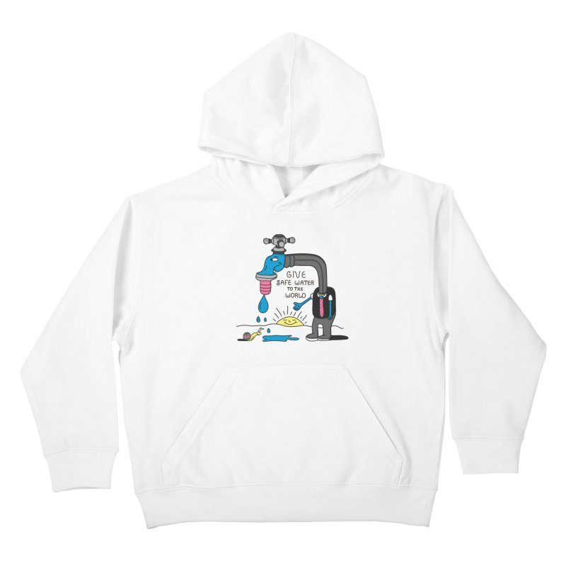 Give Kids Pullover Hoody by darruda's Artist Shop