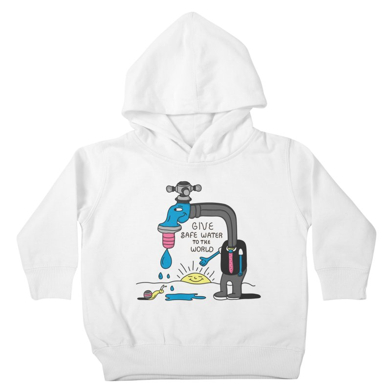 Give Kids Toddler Pullover Hoody by darruda's Artist Shop