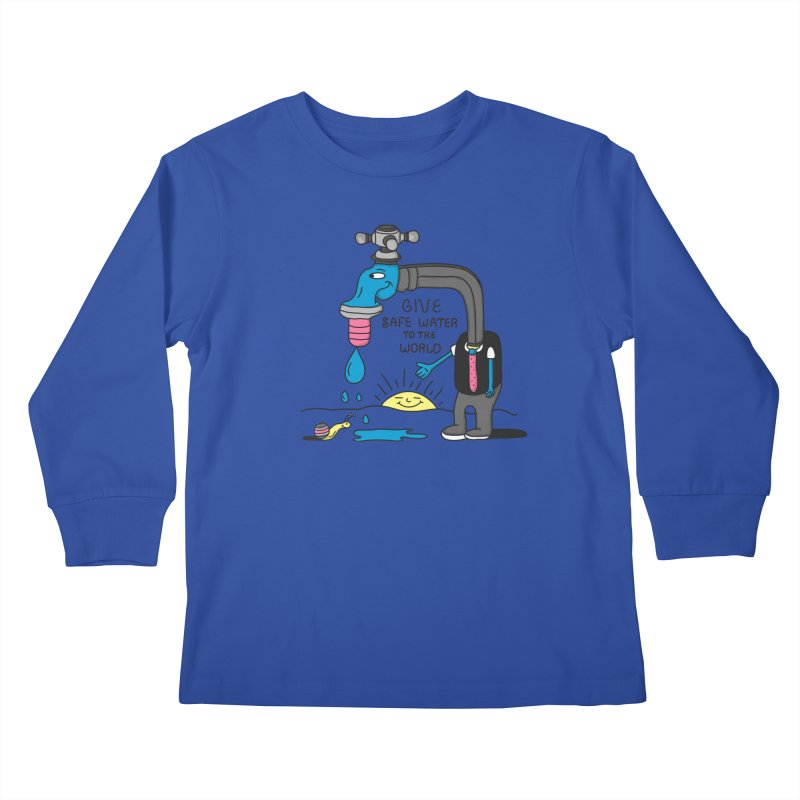 Give Kids Longsleeve T-Shirt by darruda's Artist Shop