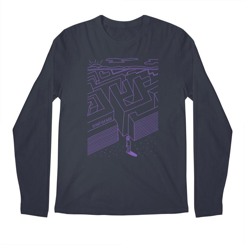 Confidence Men's Longsleeve T-Shirt by darruda's Artist Shop