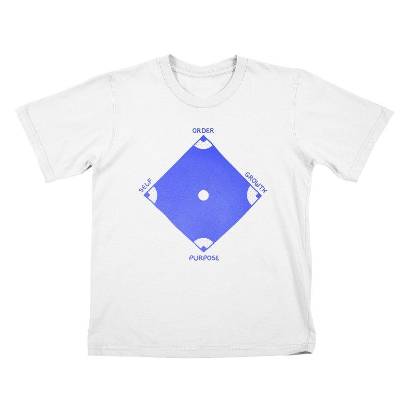 HomeRun Kids T-Shirt by darruda's Artist Shop