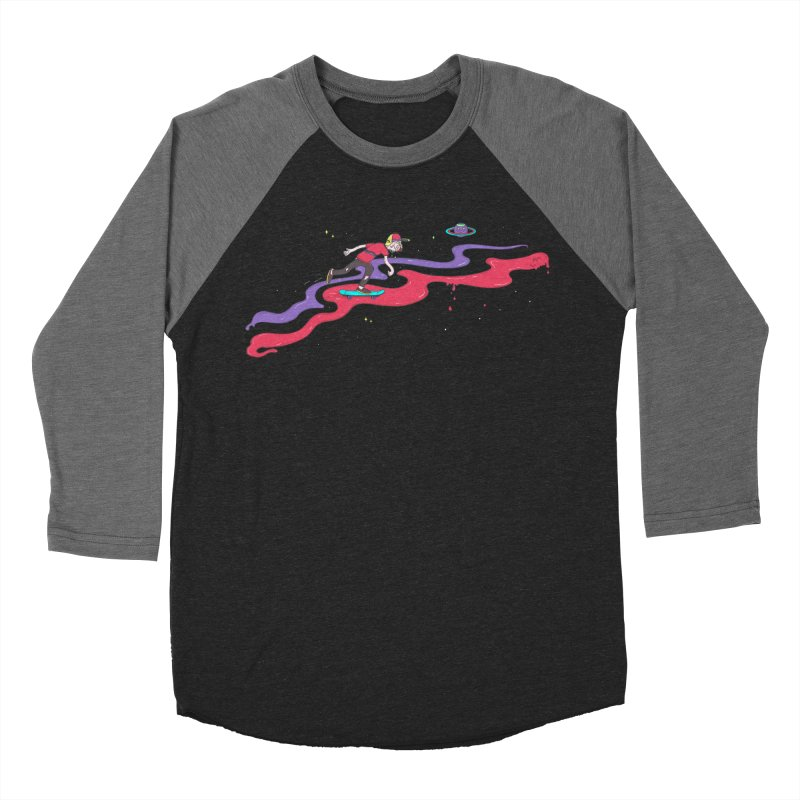 Ride On Women's Baseball Triblend T-Shirt by darruda's Artist Shop