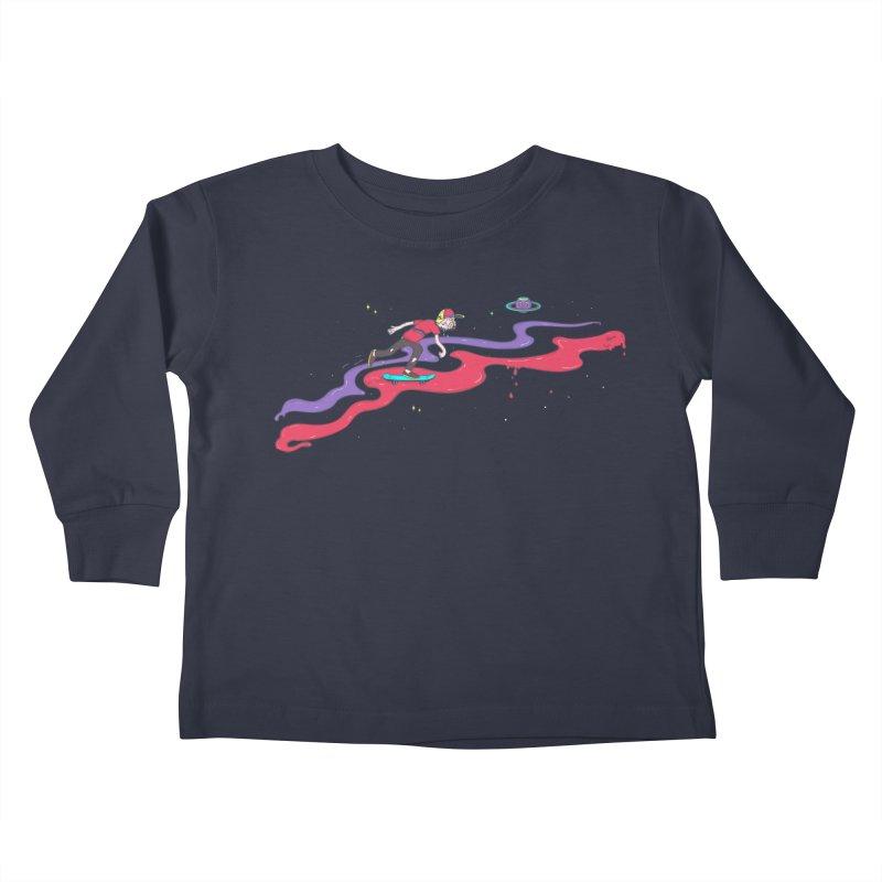 Ride On Kids Toddler Longsleeve T-Shirt by darruda's Artist Shop