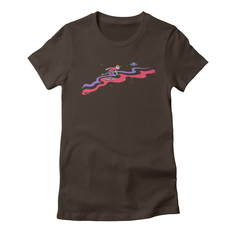 Ride On Women's Fitted T-Shirt by darruda's Artist Shop