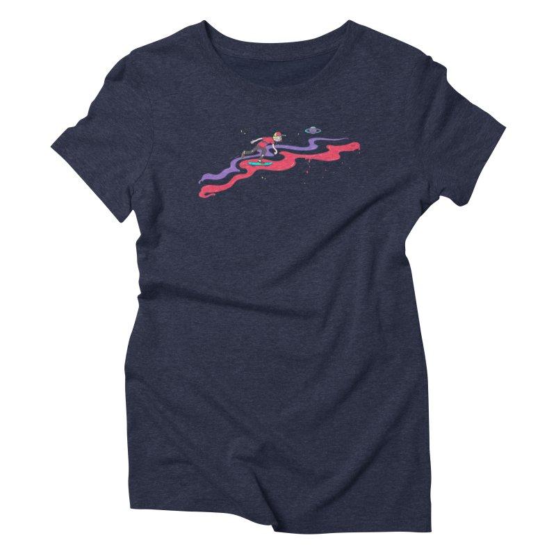 Ride On Women's Triblend T-shirt by darruda's Artist Shop