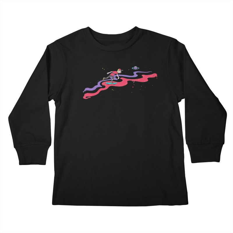 Ride On Kids Longsleeve T-Shirt by darruda's Artist Shop