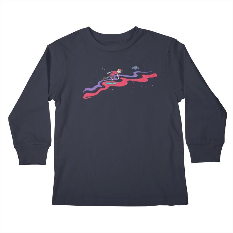 Ride On Kids Longsleeve T-Shirt by darruda's Artist Shop