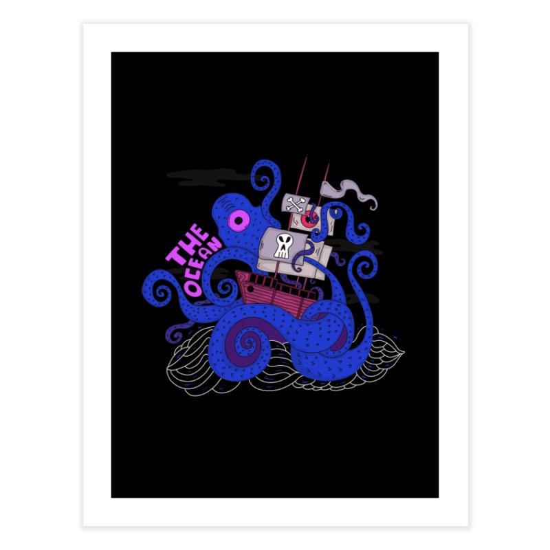 The Ocean Home Fine Art Print by darruda's Artist Shop
