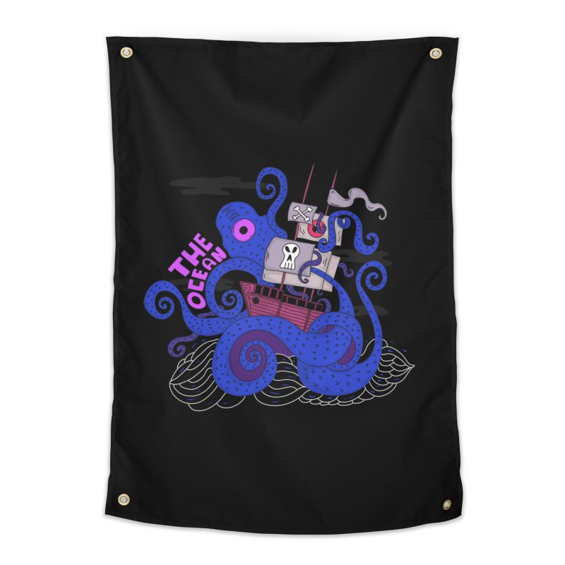 The Ocean Home Tapestry by darruda's Artist Shop