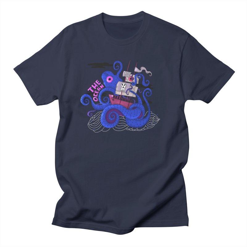 The Ocean Women's Unisex T-Shirt by darruda's Artist Shop