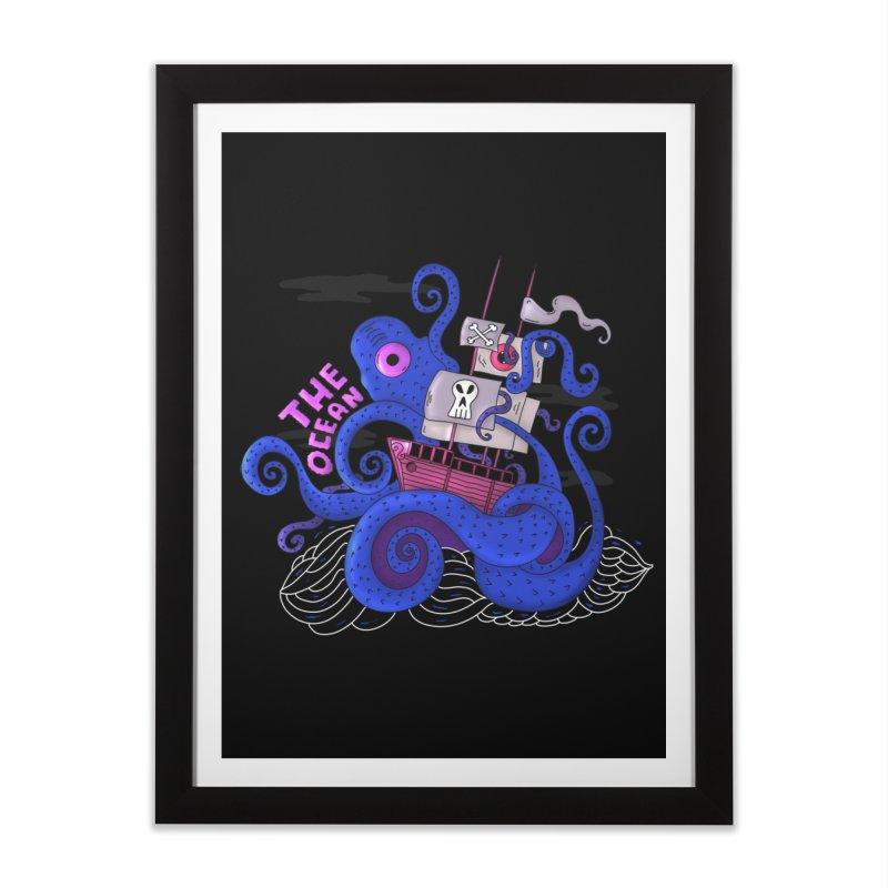 The Ocean Home Framed Fine Art Print by darruda's Artist Shop