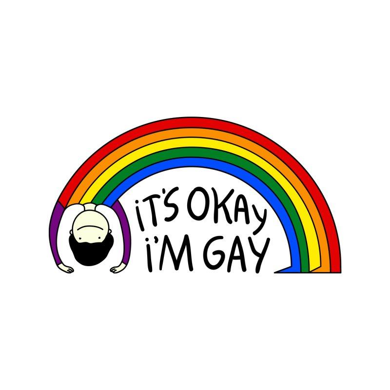 It's Okay I'm Gay Accessories Bag by darruda's Artist Shop