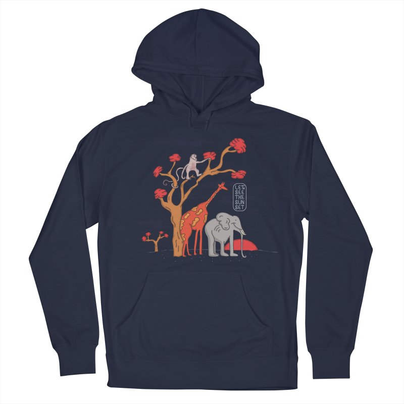 AWF - Let's See The Sunset-Day Men's Pullover Hoody by darruda's Artist Shop
