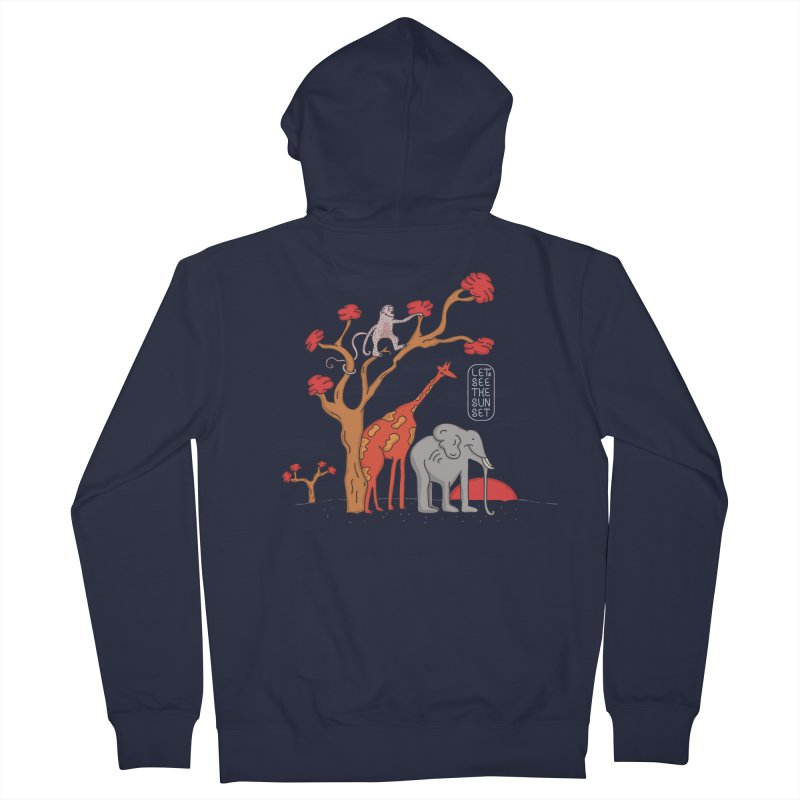 AWF - Let's See The Sunset-Day Women's Zip-Up Hoody by darruda's Artist Shop