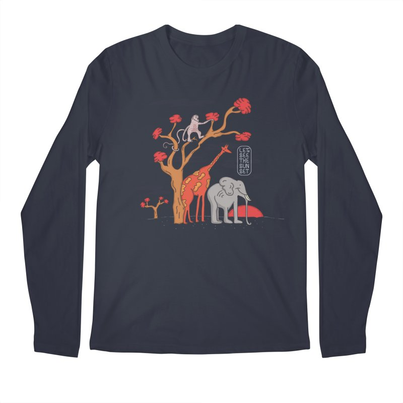 AWF - Let's See The Sunset-Day Men's Longsleeve T-Shirt by darruda's Artist Shop
