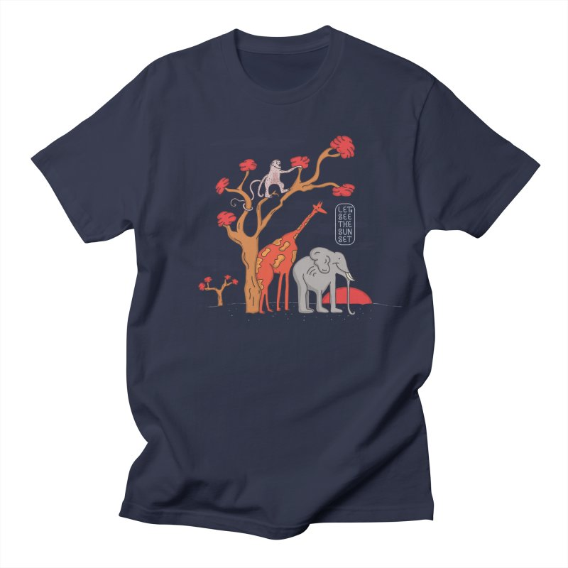 AWF - Let's See The Sunset-Day Women's Unisex T-Shirt by darruda's Artist Shop