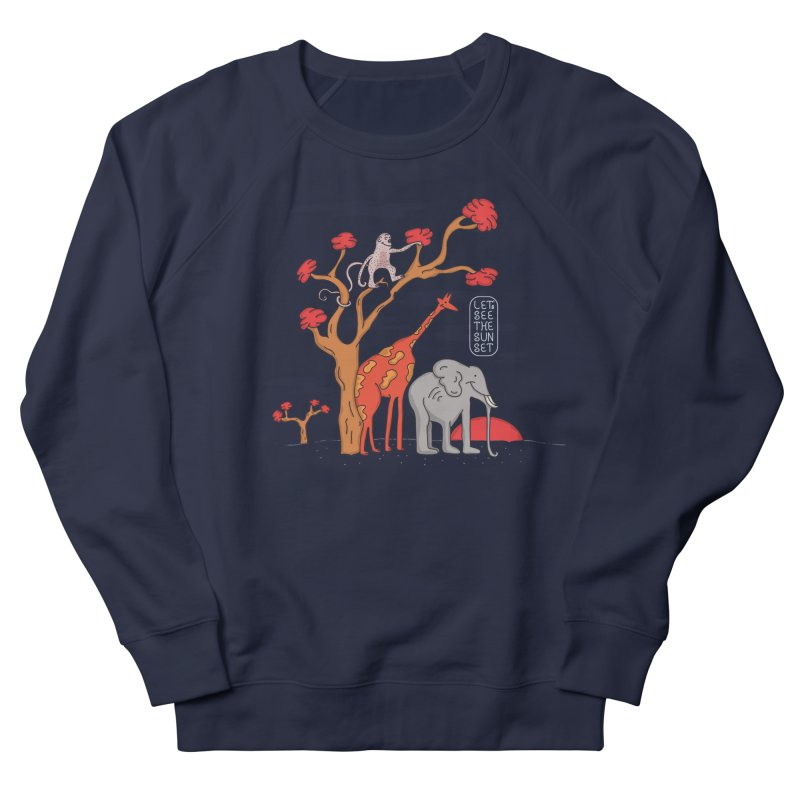 AWF - Let's See The Sunset-Day Men's Sweatshirt by darruda's Artist Shop