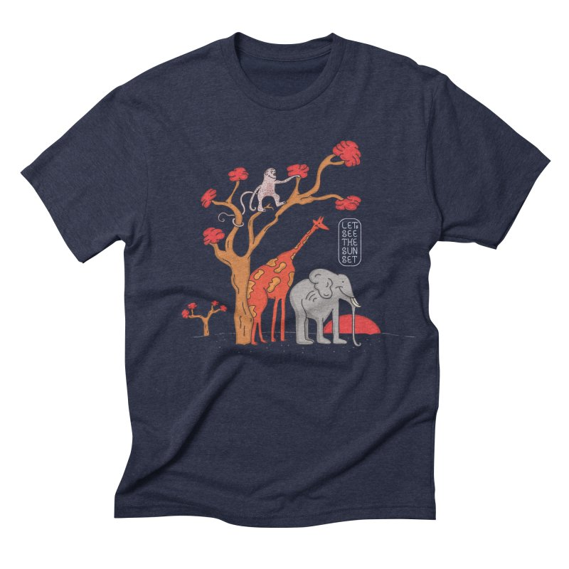 AWF - Let's See The Sunset-Day Men's Triblend T-shirt by darruda's Artist Shop
