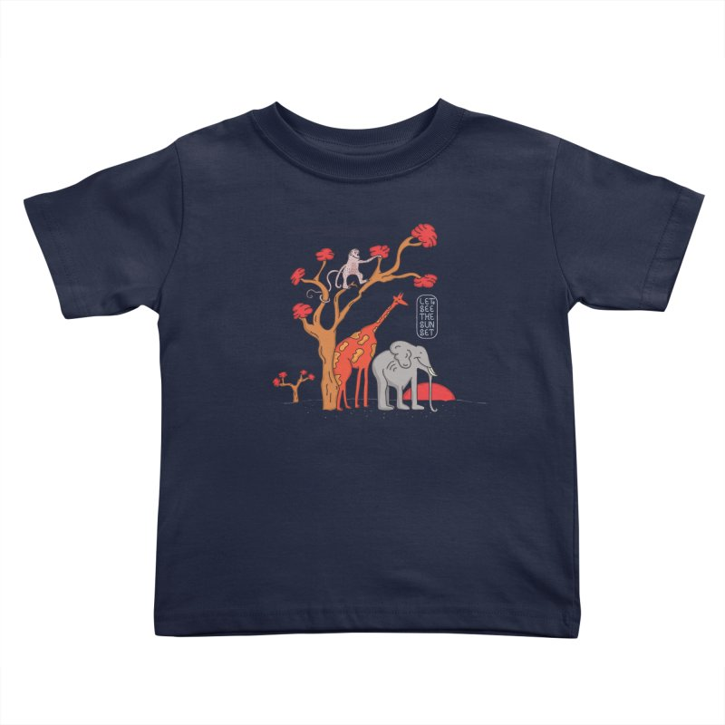 AWF - Let's See The Sunset-Day Kids Toddler T-Shirt by darruda's Artist Shop